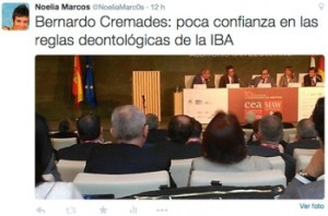 B. Cremades sobre reglas IBA