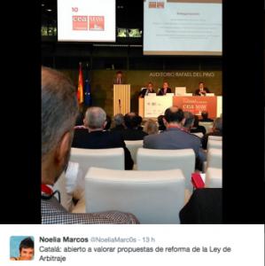 Catalá durante la inauguración del X Congreso CEA