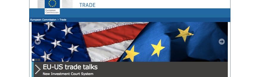 El nuevo tribunal arbitral del TTIP ¿moderno ytransparente?